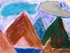 montagnes et glaciers